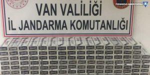 Van'da 4 bin 660 paket kaçak sigara yakalandı
