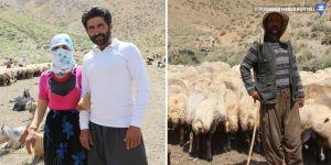 İranlı kardeşler Yüksekova'da çobanlık yapıyor