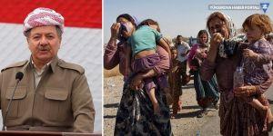 Mesud Barzani: DAİŞ'in yaptığı, her açıdan soykırımdır