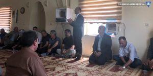 HDP'li Dede, Vedat Ekinci'nin taziyesine katıldı