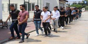 41 polis gözaltına alındı