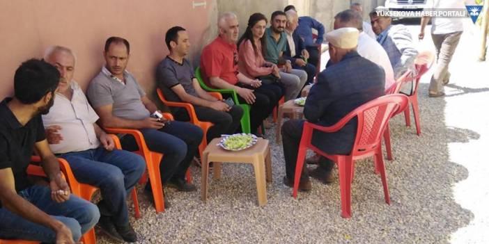 Eş Başkanlar'dan Dilekli ve Yazılı köylerine ziyaret