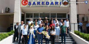 HDP'li İmir'den Hakkari Belediyesi'ne ziyaret