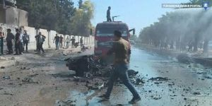 Kamışlı'da bombalı saldırı