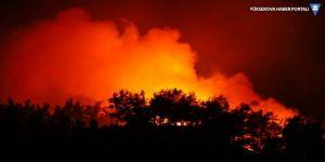 İzmir'in ormanları üç gündür yanıyor