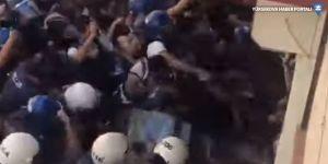 HDP binası önünde polis müdahalesi