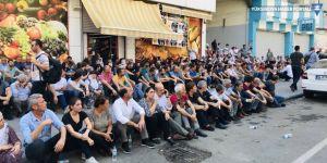 Diyarbakır'da kayyım gerilimi | HDP'lilerin basın açıklamasına polis engeli
