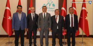 VEDAŞ Genel Müdürü Kovancı'dan Vali Akbıyık'a ziyaret