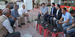 Şemdinli Kaymakamı Türkman, esnafla vedalaştı