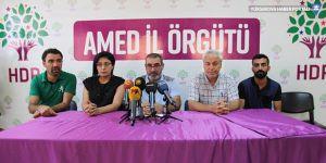 Diyarbakır'da 1 Eylül Dünya Barış Günü için miting