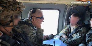 Türkiye ve ABD'den Fırat'ın doğusunda ilk ortak helikopter uçuşu