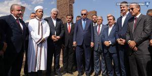 Erdoğan: Ahlat'ta külliyenin yanına bir kaç butik otel yapacağız