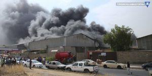 Erbil'de Türk şirketinin deposunda yangın
