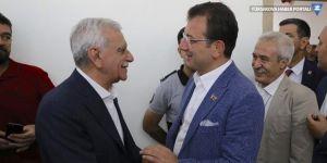 İmamoğlu, Ahmet Türk ve Selçuk Mızraklı ile görüştü: 'Ahmet ağabey tecrübe abidesi, bir aradayız'