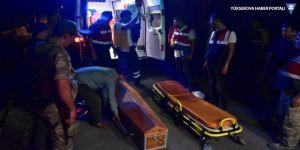 Hafif ticari araç nehre uçtu: 3 ölü