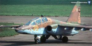Rusya'da Su-25 savaş jeti düştü