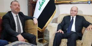 HDP heyeti Irak Cumhurbaşkanı Salih'le görüştü