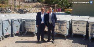 Çukurca Belediyesi'nden Esendere Belediyesi'ne hibe desteği