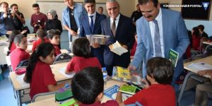 Vali İdris Akbıyık'tan okul ziyareti
