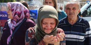 AK Parti binası önünde eyleme izin yok: Sizi tutuklarız