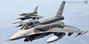 Türk jetleri Fırat'ın doğusunda uçtu