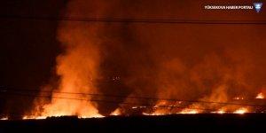 Şırnak'ta 5 noktada çıkan yangına müdahale ediliyor