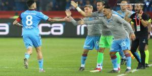 Karadeniz'de 'fırtına' esti: Trabzon 4-Beşiktaş 1