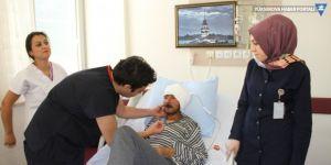 Şemdinli'de beyin tümörü ameliyatı yapıldı