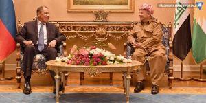 Barzani'den Lavrov'a Fırat'ın doğusu için çağrı