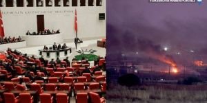 Meclis'te Suriye'ye harekat gerginliği
