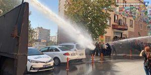 Polisten HDP'lilere müdahale: Çok sayıda gözaltı