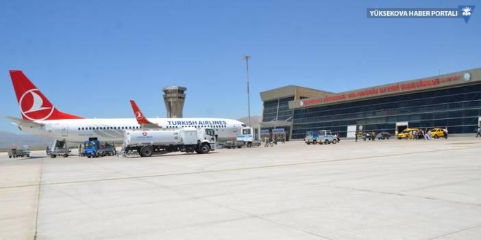 Yüksekova havalimanından 9 ayda 134 bin kişi uçtu