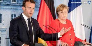 Merkel ve Macron'dan Türkiye'ye: Harekatı sonlandırın
