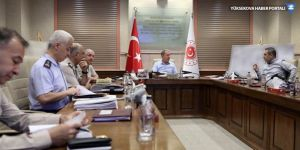 Milli Savunma Bakanlığı ve MİT'ten ortak toplantı