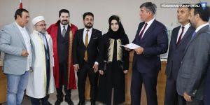 Dini nikahın şahidi Metin Feyzioğlu