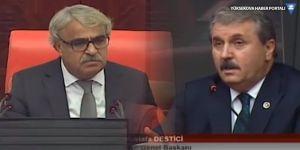 TBMM'de Mithat Sancar ile Mustafa Destici arasında 'hain' tartışması