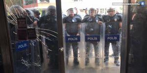 HDP Diyarbakır il binası yine ablukada