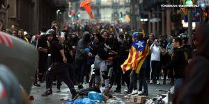 'Özgürlük yürüyüşçüleri' Barselona'da toplandı