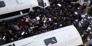 HDP'lilere polis müdahalesi