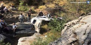 Kulp'ta kaza: 2 ölü 5 yaralı