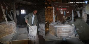 Yüksekova'daki tarihi su değirmeni 100 yıldır dönüyor