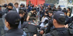 Cizre'de kayyım protestosuna darp ve gözaltı