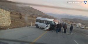 Yüksekova'da trafik kazası : 7 yaralı