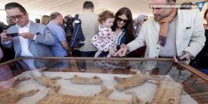 Mısır'da hayvan mumyaları sergileniyor