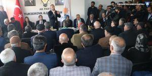 AK Parti heyeti Yüksekova ve Şemdinli'yi ziyaret etti