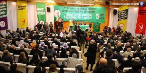 DBP'nin yeni Eş Genel Başkaları Saliha Aydeniz ve Keskin Bayındır