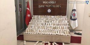 Van merkezli 6 operasyonda 900 kilogram uyuşturucu ele geçirildi