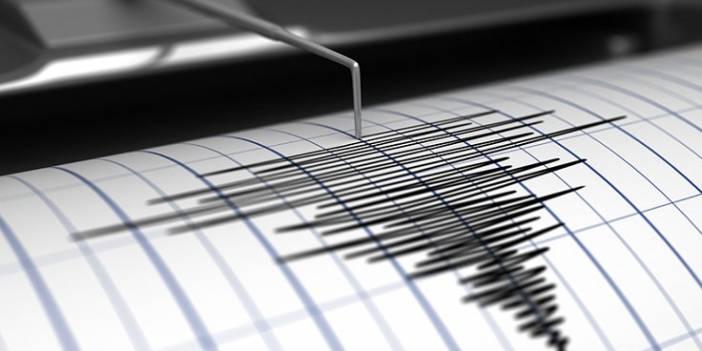 Marmaris açıklarında 5,4 büyüklüğünde deprem