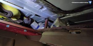 Van'da minibüsün tavanında 40 kilo 325 gram eroin bulundu