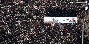 Süleymani'nin cenazesinde izdiham: 35 kişi öldü